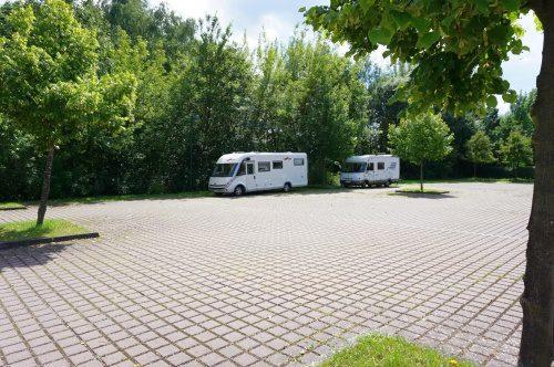 Wohnmobil Rastplatz Templin