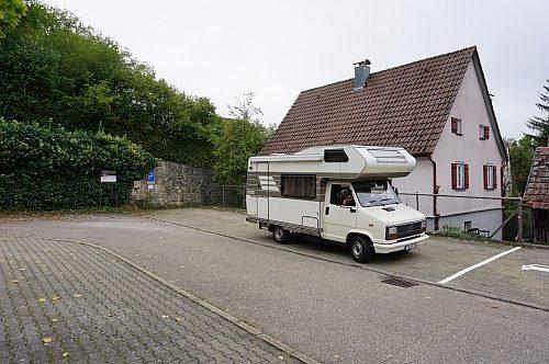 Parkplatz Burggraben