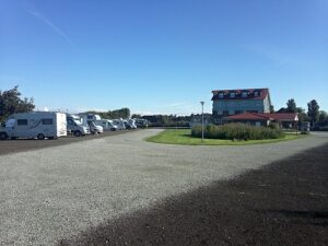 Wohnmobilplatz am Badepark