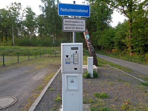 Stellplatz am Herthasee
