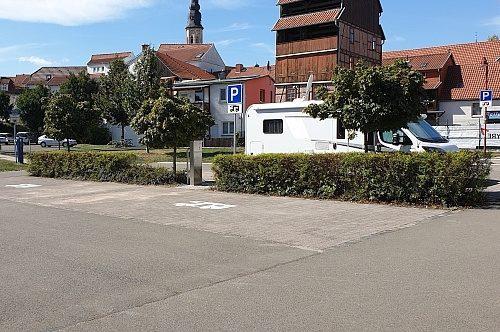 Wohnmobilstellplatz Engelsgarten