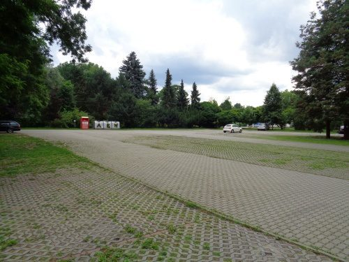Parkplatz am Tierpark