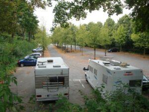 Wohnmobilstelplatz Parkplatz Bismarckturm