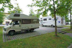 Wohnmobilstellplatz Parkplatz P6