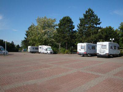 Wohnmobilstellplatz Festplatz Jork