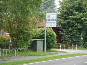 Stellplatz Freibad Hengstforde
