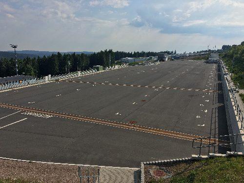 Caravanstellplatz am Biathlonstadion