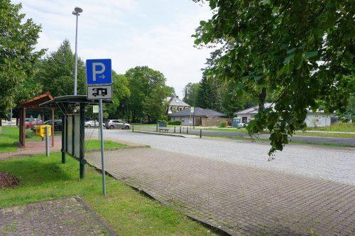 Parkplatz Strolin