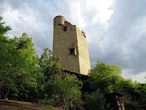 Stellplatz Burg Laurenburg